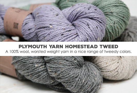 Plymouth Yarn Homestead Tweed