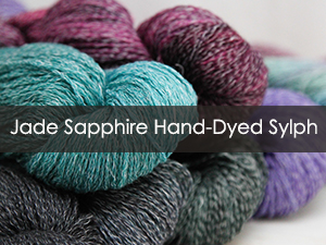 Jade Sapphire Hand-Dyed Sylph