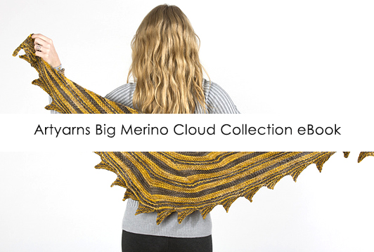 Artyarns Big Merino Cloud Collection eBook - free eBook w/ purchase of Big Merino Cloud