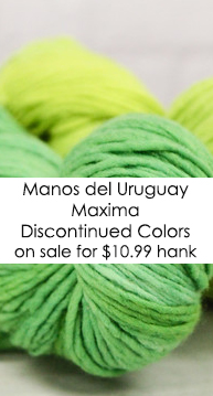 Manos del Uruguay Maxima Discontinued Colors