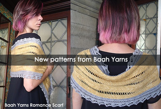 New Patterns from Baah Yarns