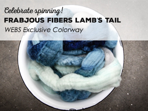 Frabjous Fibers Lamb's Tail - WEBS Exclusive Colorway