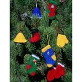 Fiber Trends 210 Felt Christmas Ornaments