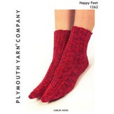 Plymouth Yarn 1262 Cabled Socks