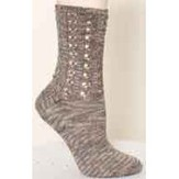Plymouth Yarn S183 Lace Top Socks