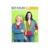 Reynolds 82234 Color Block and Embroidered Tunic
