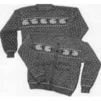 7 Women's Sheep Sweater Pullover or Cardigan