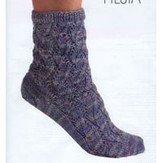 Fiesta Yarns Fishbone Lace Sock