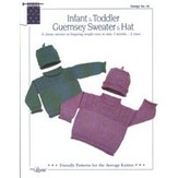 Louise 22 Infant & Toddler Guernsey Sweater & Hat