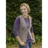 Valley Yarns 178 Greenwood Cabled Vest