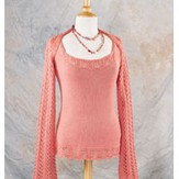 Valley Yarns 157 Sunrise Shrug (Free)