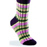 Valley Yarns 128 Super Stripe Socks (Free)