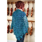 Valley Yarns 40th Anniversary 01 Cousteau Shawl