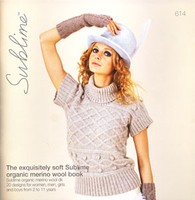 614 The Exquisitely Soft Sublime Organic Merino Wool Book