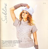 Sublime 614 The Exquisitely Soft Sublime Organic Merino Wool Book