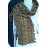 HeartStrings A64 Beaded Lace Scarf II