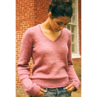 106 Silky V-Neck Sweater