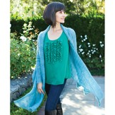 Be Sweet Mohair Swing Wrap PDF