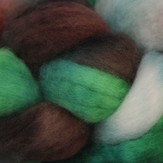 Frabjous Fibers Hand Dyed BFL, Take Me Out to the Ballpark