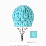Blue Sky Fibers Techno Hat  (Free)