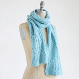 Blue Sky Fibers Techno Scarf (Free)