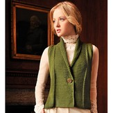 Blue Sky Alpacas Shawl Collar Vest