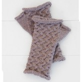 Blue Sky Alpacas Cabled Mitts PDF