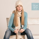 Blue Sky Fibers Worsted Scarf & Hat