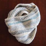 Blue Sky Fibers Caledonia Cowl Bone Kit