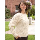 Cascade Yarns A144 Eco Wool Saddle Shoulder Aran (Free)
