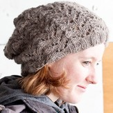 Cascade Yarns Fishtail Lace Slouch Hat (Free)