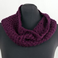 W447 Cell Stitch Cowl (Free)