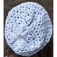 W528 Avalon Summer Slouch Hat (Free)