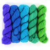 Wonderland Yarns Cheshire Cat 5-Skein Pack - Neons2