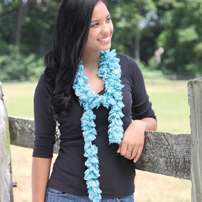 Videos|How to Knit a Swirl Ruffle Scarf at WEBS | Yarn.com