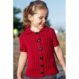 Classic Elite Yarns Tomboy Cardigan in Cheseapeake (Free)