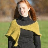 Classic Elite Yarns Easy Giselle Shawl (Free)