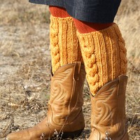 Waterlily Leg Warmers (Free)