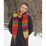 Classic Elite Yarns 1417 Bobble Bind Off Scarf PDF