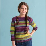 Classic Elite Yarns 1417 Sylvan Shadow Pullover PDF