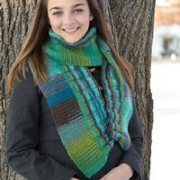 9246 Two Direction Scarf PDF