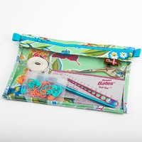 Clear Front Zipper Pouches - Small
