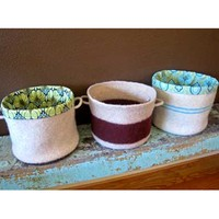 Felted Buckets