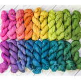 Wonderland Yarns So Fond of Rainbows