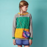 Conway + Bliss Colour Block Sweater PDF