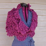 Crochet by Faye Flowering Shawl PDF