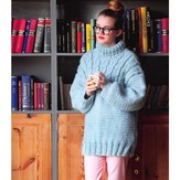 Debbie Bliss Cable Yoke Sweater PDF