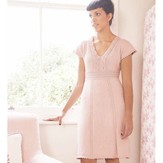 Debbie Bliss Dress PDF - Debbie Bliss Knitting Magazine #6