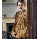 Debbie Bliss Cable and Bobble Sweater PDF - Debbie Bliss Magazine #7