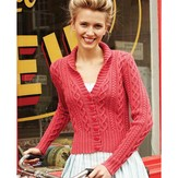Debbie Bliss Cable Cardigan PDF - Magazine #10